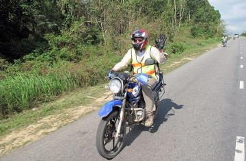 Ho Chi Minh Trail Motorcycle Tour 15 days from Hanoi
