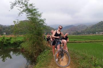 Pu Luong Nature Reserve Biking Tour 4 days