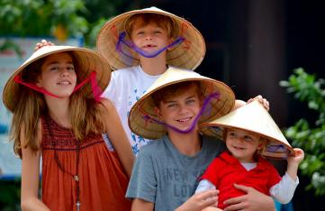 Top reasons to visit Vietnam with children