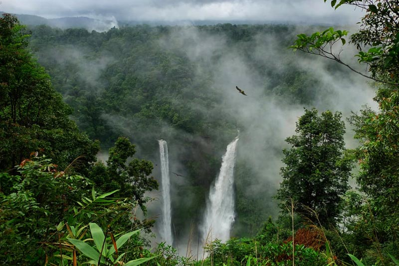 Travel to Laos - Tad Fane Water Falls