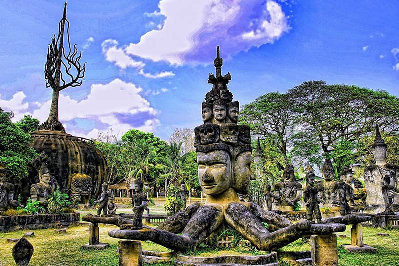 Laos Tours Packages - The Buddha Park