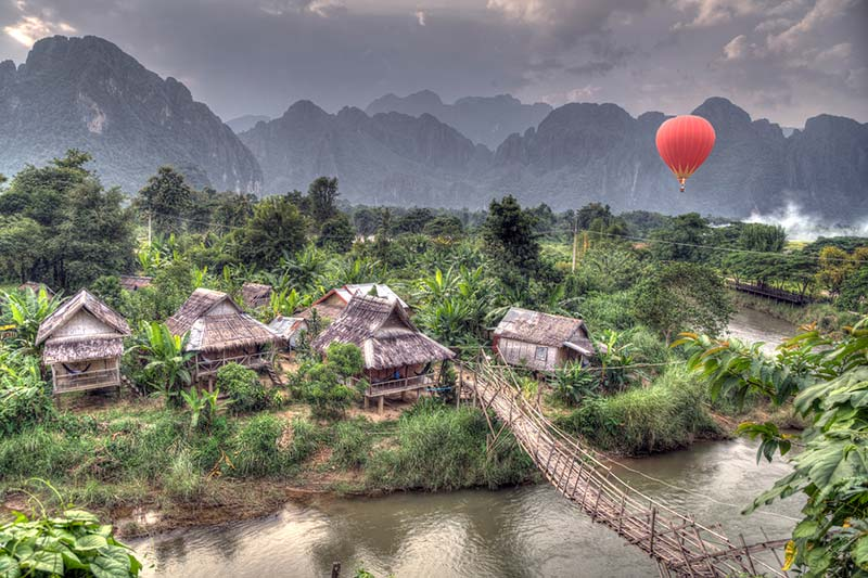 Laos travel packages - Vang Vieng