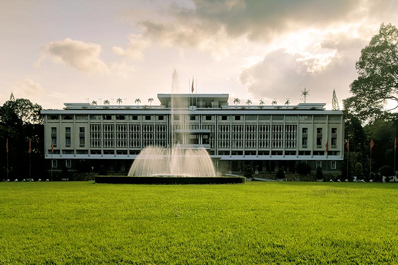 Independence Palace in Viietnam Customized Tours