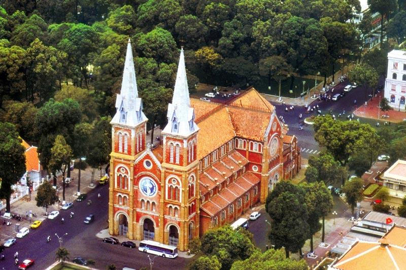 Notre- Dame in Ho Chi Minh City, Vietnam