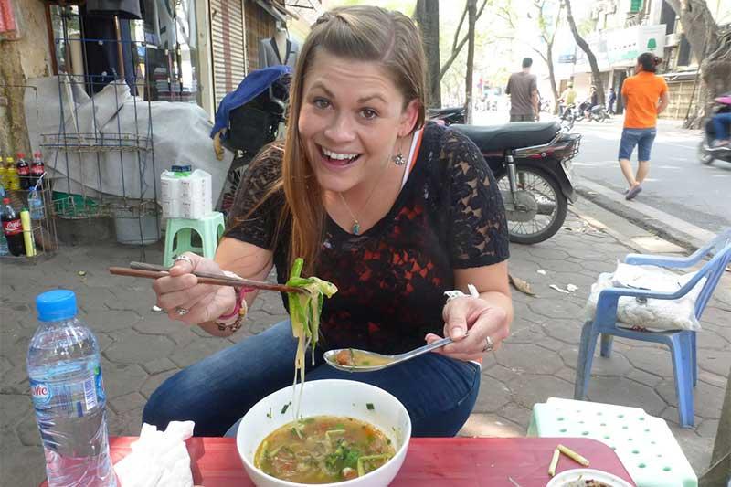 Street Foods in Hanoi
