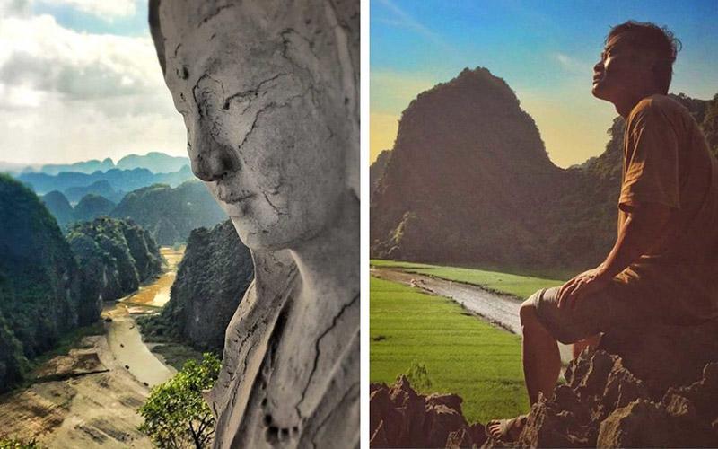 Una escena en Ninh Binh, Vietnam Viajes