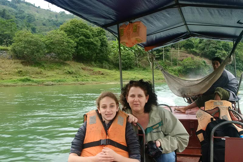Sara ben David Nadova Tours Vietnam travel
