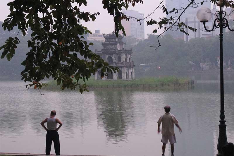 Early morning in Hanoi